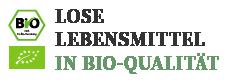 Lose Lebensmittel in Bio